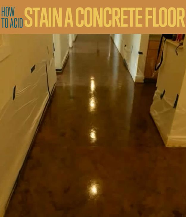 1000+ Ideas About Stained Concrete Flooring On Pinterest