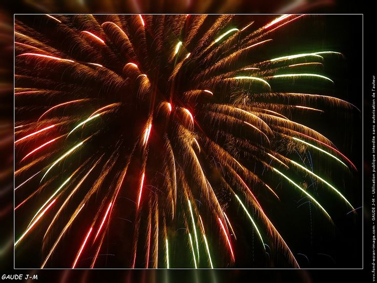 feu d'artifice annecy 2015 fete nationale