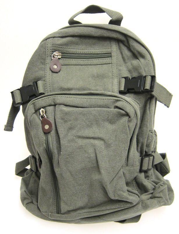 8b49766ab19d Rothco Compact Vintage Mini Backpack Military Olive Drab Army Surplus   Rothco  Backpaack  backtoschool
