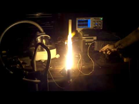 Flame Speaker - audio playing via fire