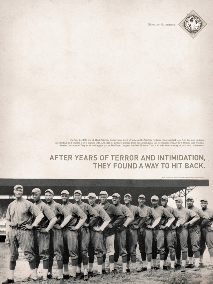 The third poster done by Bailey Lauerman for the Negro League Baseball Museum.