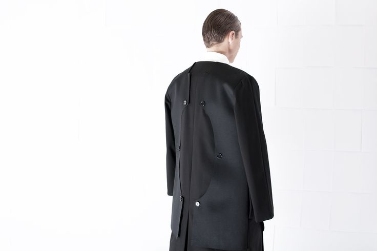 SS15 Menswear  #ss15 #minimal #minimalfashion #minimaldesign #whitespace #blackonblack #blackfashion #fw
