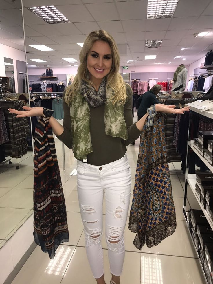 Spice up your wardrobe with colorful scarfs from www.contemposhop.co.za