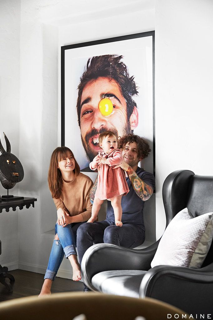 This Fall Out Boy Musician's Home Has Rock Star Written All Over It: Fall Out Boy guitarist Joe Trohman and his wife Marie Goble had strong opinions about what they did and didn't want in in their new LA home.
