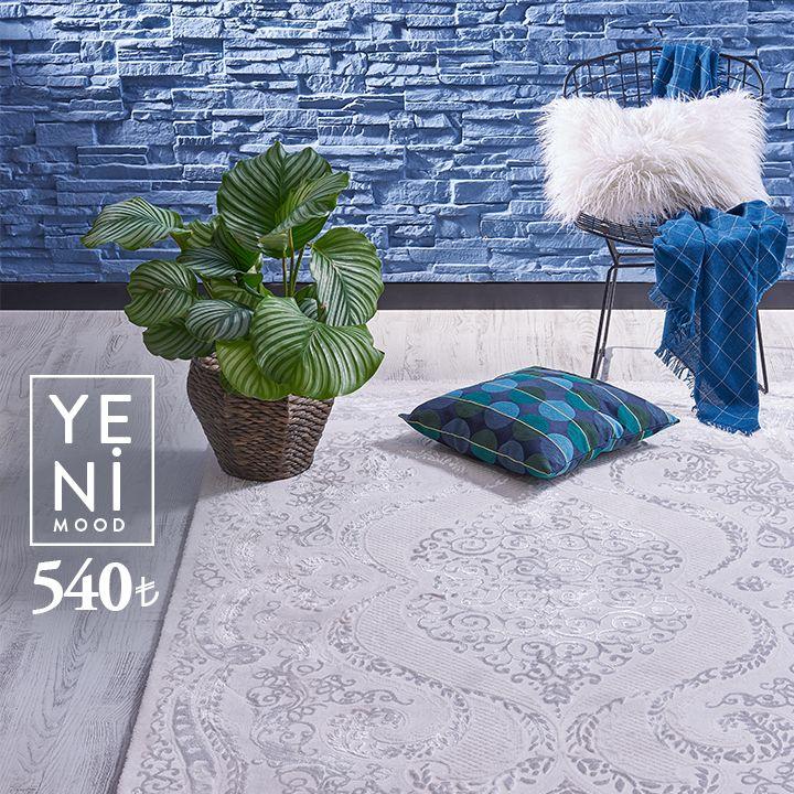 Şık desenlere sahip Festival'lerle renginizi siz belirleyin. Yeni koleksiyonlarımızı keşfetmek için www.festivalhali.com #carpet #collection
