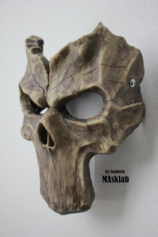 Máscara de muerte de Darksiders inspiradora por MaskLabShop en Etsy