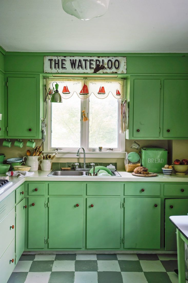 95 besten Tiny kitchens! Bilder auf Pinterest   Grüne küche, Kleine ...