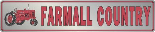Farmall Country Metal Sign *** You can find out more details at the link of the image.