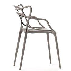 kartell masters chair light grey