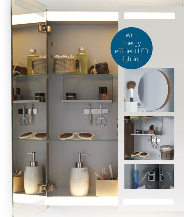 In Dansani Special Collection you can choose a mirror cabinet both with integrated top and base illumination. The mirror cabinet comes with shaver point and pullcord switch as standard.