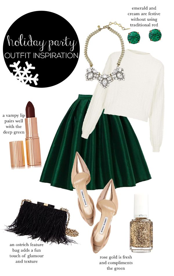 Holiday Party Outfit Inspiration | STYLE'N