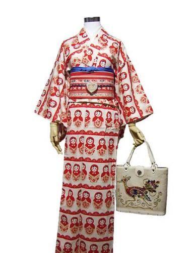 Fabulous Russian Doll #Kimono from bon appetit #Japan