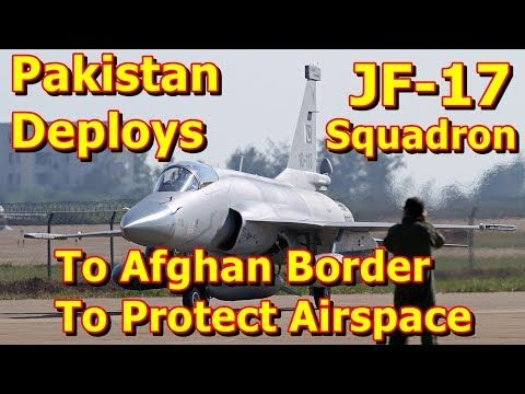 """This video shows you that Pakistan Deploys JF-17 Squadron To Afghan Border To Protect Airspace. The Pakistan Air Force (PAF) has fielded a squadron of new Pakistan Aeronautical Complex JF-17 """"Thunder"""" combat aircraft, according to a recent report by the Associated Press of Pakistan. The mul..."""