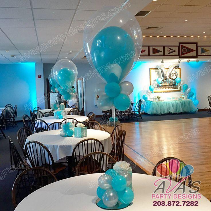 42 Best Balloon Centerpieces Images On Pinterest