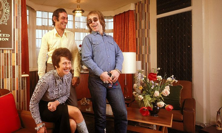 Photos of 1970s rock stars with their parents reveal humble roots in their childhood homes.  Moral of the story: Rock n Roll is suburban.