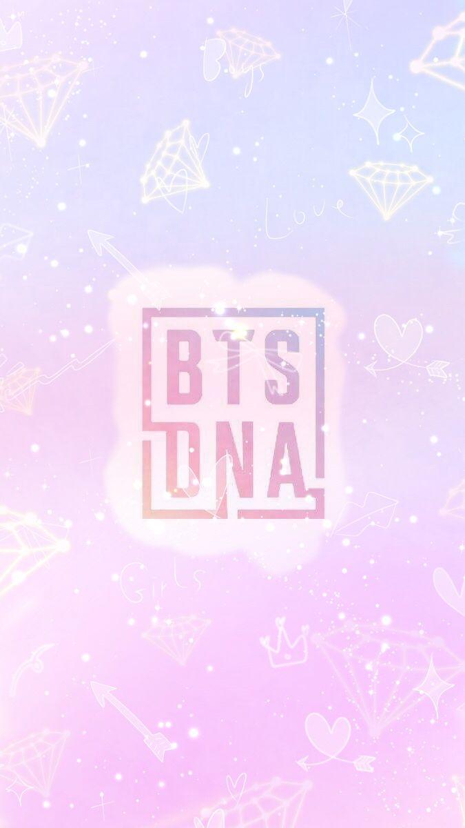 Cartoon Cute Girl Wallpaper Mv Dna Bts♡ Bts Bts Wallpaper E Bts Backgrounds