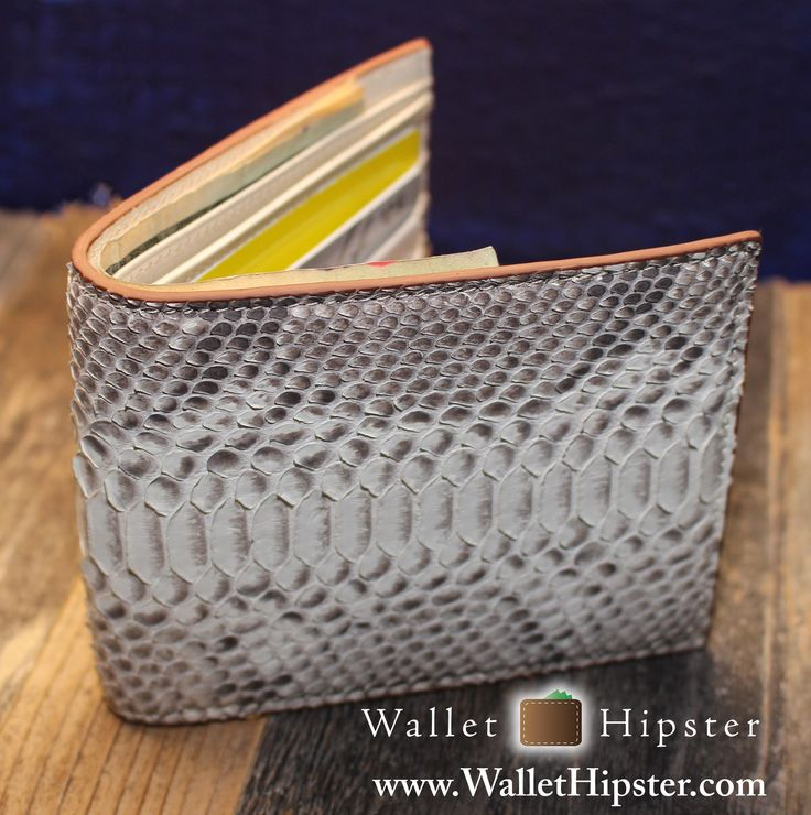 100% Genuine Python Bifold Wallet — FREE SHIPPING — Limited Supplies – Wallet…