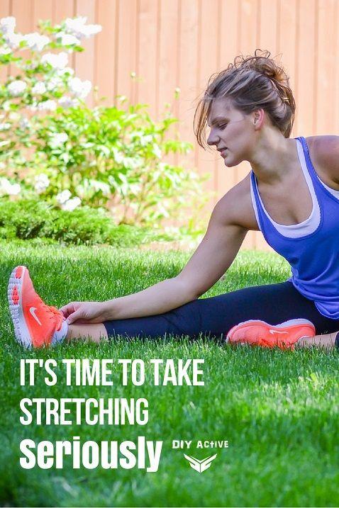 It's Time to Take Stretching Seriously via @DIYActiveHQ #stretch #health #yoga #flexibility