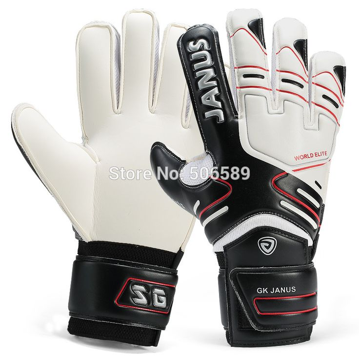 free shipping goal keeper gloves with finger protection thick ja383  #Affiliate