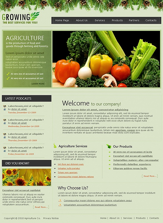 11 best Agriculture Templates images on Pinterest Role models - privacy notice template