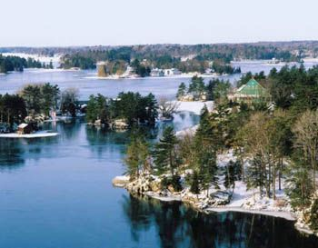 2014 Scenes of Ontario Business Promotion Calendars - January 2014 - Thousand Islands