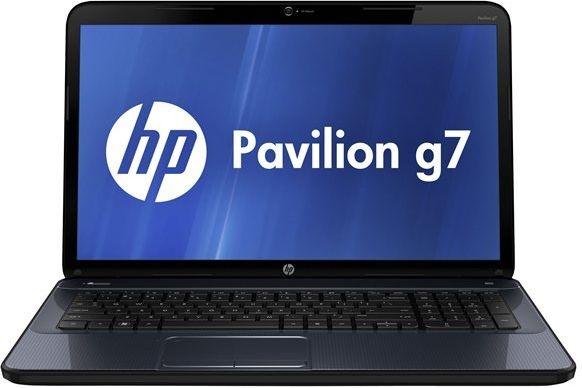 HP Pavilion g7-2353so - 6GB A serie 17.3″ HD7670M 1GB Skinnende sort