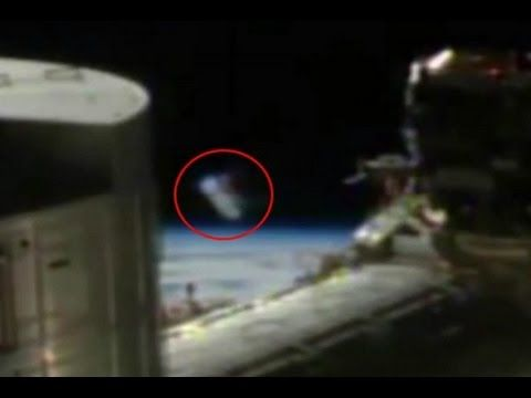 (13) NASA live Feed From INTERNATIONAL SPACE STATION Captures ALIEN CYLINDER UFO - YouTube
