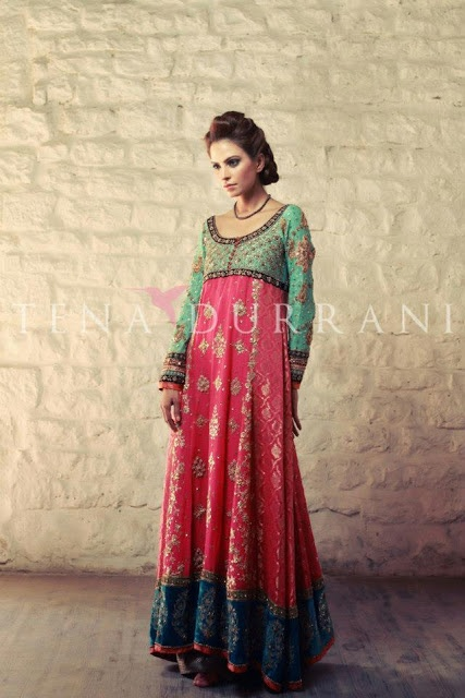 Tina Durrani, Pakistani fashion designer, bridal couture collection * Ombre
