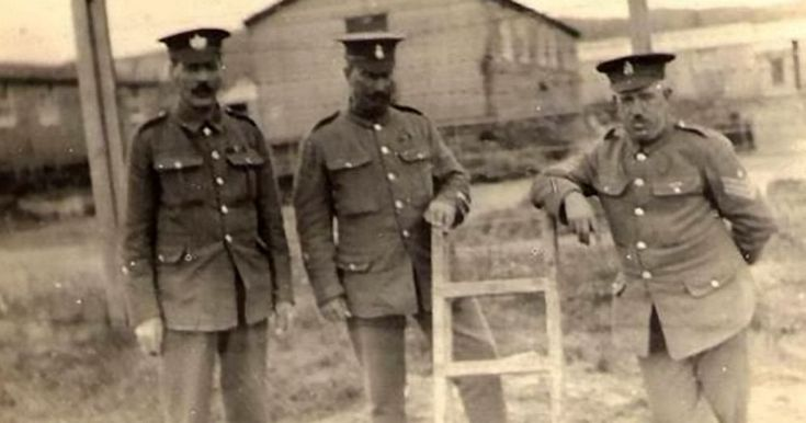Camp guard Captain Eli Bowers took the images from 1916 to 1917 at Les Blanches Banques in Jersey before they were shut away in a drawer for decades