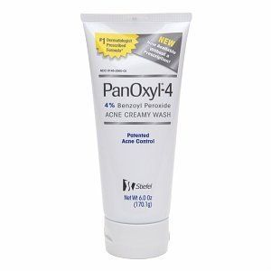PanOxyl-4 Acne Creamy Wash 4% Benzoyl Peroxide 6 Oz by