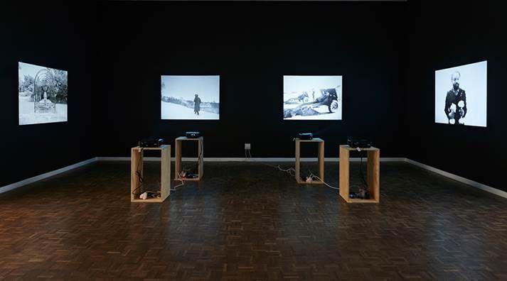 Samson Kambalu, Sepia Rain, installation view, Stevenson Johannesburg 2014