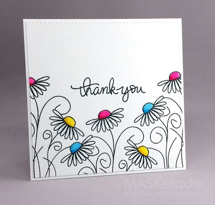 FS497 - Thank You by Ardyth - Cards and Paper Crafts at Splitcoaststampers