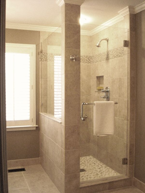 Best 25 custom shower ideas on pinterest bathrooms for Custom bathroom designs