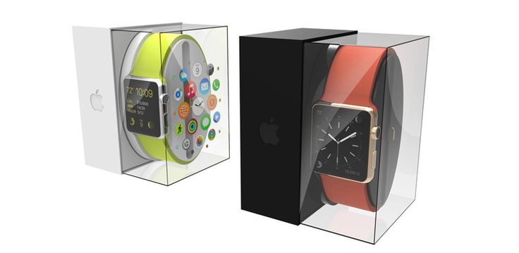 Apple WATCH Sport and Apple WATCH Edition are easily identified at retail via color coded outer product packaging.
