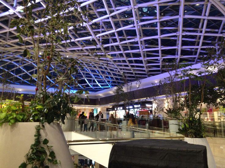 Centro Comercial ANDINO. Zona T. Bogotá. Arquitectura estructural
