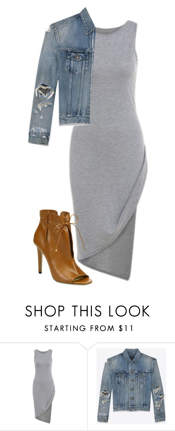 Untitled #9 by peppppa on Polyvore featuring Yves Saint Laurent and Jimmy Choo