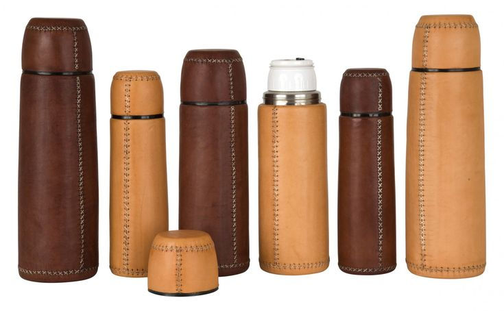 Leather Thermos - Tabletop - Accessories | Jayson Home $120-$155