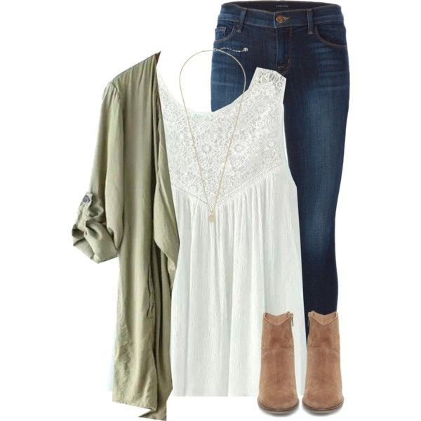 A fashion look from March 2016 featuring J Brand jeans, Steve Madden ankle booties and Kendra Scott necklaces. Browse and shop related looks.