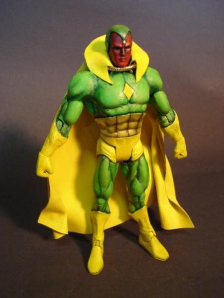 Vision (Avengers) Custom Action Figure