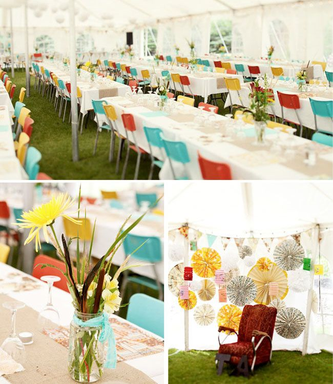 Fun Colors - Outdoor Reception