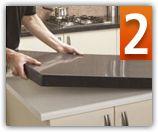 Granite Overlay Installation   Granite Transformations