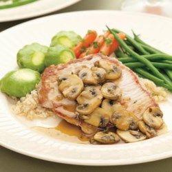 Boneless Pork Chops with Mushrooms & Thyme - EatingWell.com