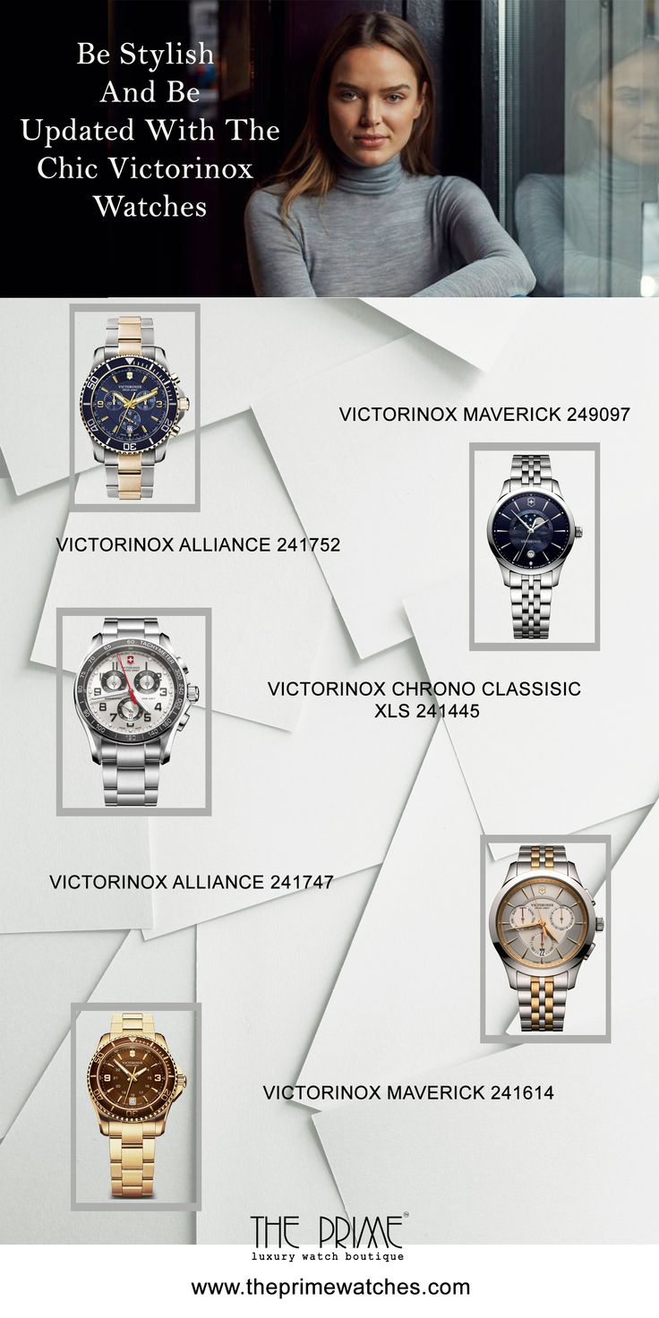 The Victorinox Watches are the one of the #trendy  collections of #swiss watches #brands . Stop the boring backdated #fashion  & be #stylish  and be updated with the latest Chic #watches nox #Watches.