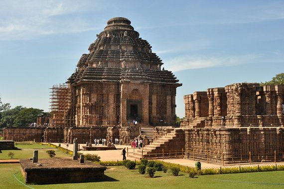 Konark Temple of the Sun Orissa India. Travel Photography by Diane Greene Lent