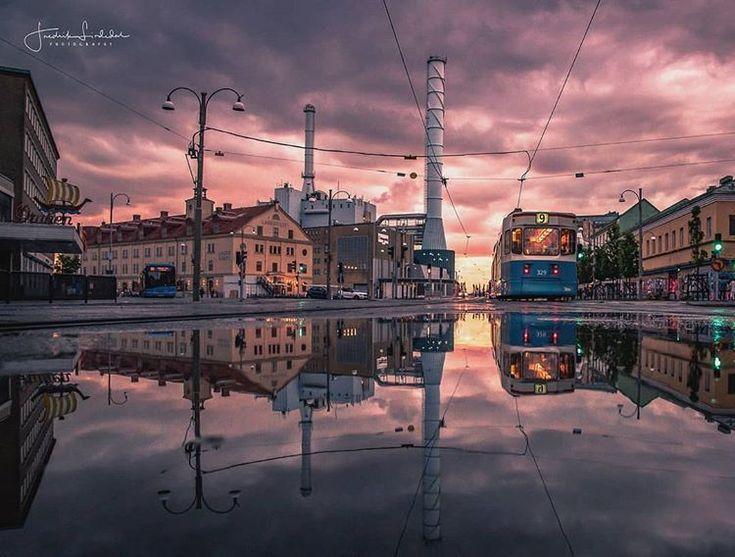 After a rain ☔ Gothenburg 🌆 via @fredrik_lind…