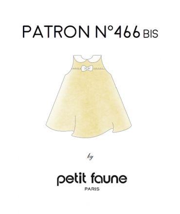 Patron n°466bis Robe Fluide - idéal pour robe cortège pour enfants d'honneur