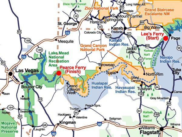 Grand Canyon Map - Google Search | Road Trip | Pinterest | Grand Canyon Map Grand Canyon And ...