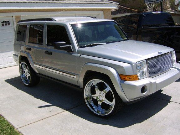 jeep commander custom 2006 jeep commander lancaster. Black Bedroom Furniture Sets. Home Design Ideas