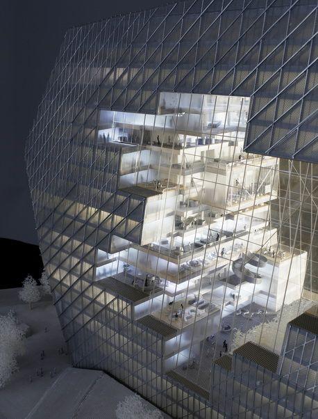 Büro Ole Scheeren - Axel Springer Cloud