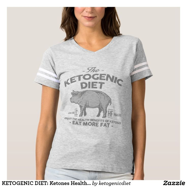KETOGENIC DIET: Ketones Health Benefits, Gray Pig T-shirt - #Ketogenic #Diet #Dieting #KetogenicDiet #Bacon #Meat #Diabetes #KetoDiet #Fashion #WeightLoss #Ketosis #LCHF #LowCarb #LowCarbDiet #Keto #Paleo #Paleodiet #Atkins